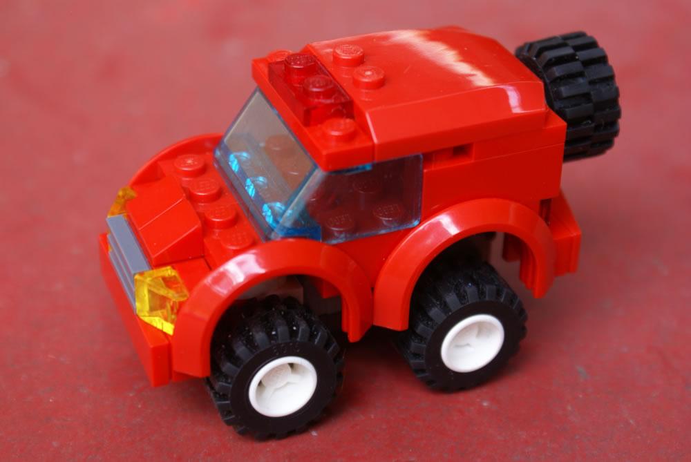 Lego pull back car instructions